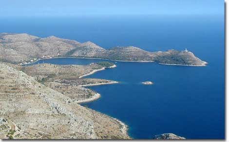 Portorus (Skrivena Luka) - a picture from mountain Hum