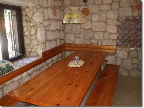 Spacious tavern with table for 12 people