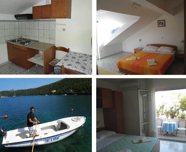 Great accommodation and... If you rent a boat your experience will be unforgettable.